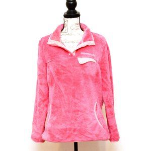 Free Country Pullover Fleece Jacket Top XL Pink